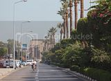Luxor the Nile Corniche and Luxor Temple